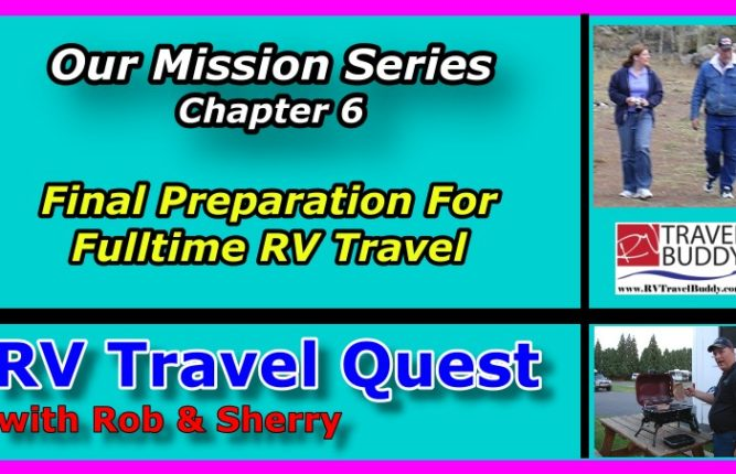 RV Travel Quest Mission Series Chp 6 Cover