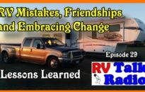 RV Talk Radio Ep 29 Lessons learned cover