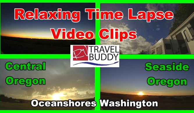 RV Travel Buddy Relax Time Lapse Cover