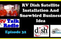 RV Talk Radio Ep 32 Dish Cover