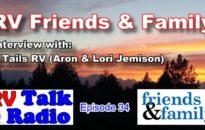 RV Talk Radio Friends Cover