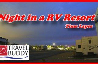 RV Travel Buddy Night in RV Resort cover