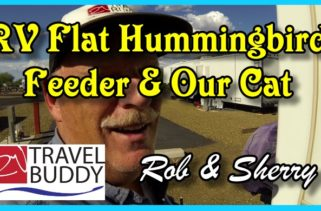 RV Travel Buddy Flat Humming Feed Cover
