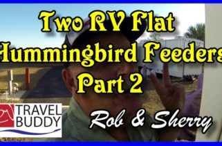 RV Travel Buddy Two Flat Humming Feed Cover